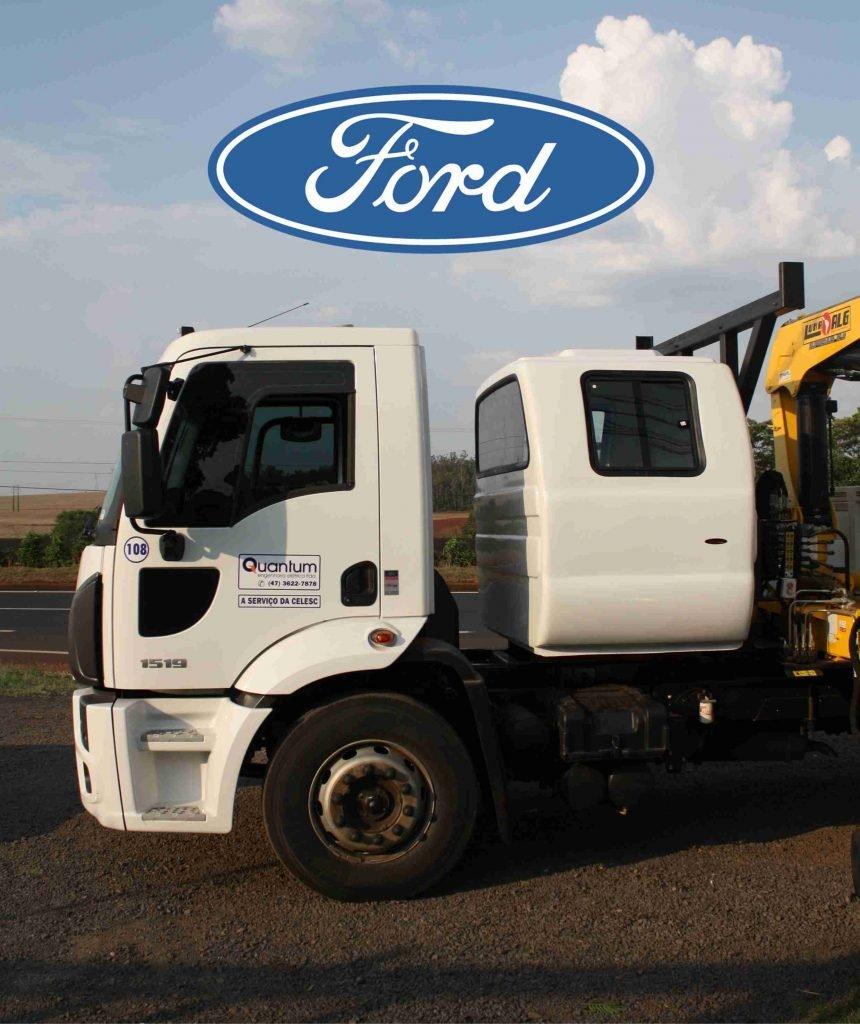 cabine suplementar para caminhão ford